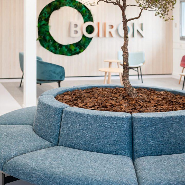 Laboratoires BOIRON : Espace accueil