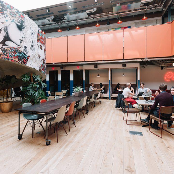 Le coworking : un espace de travail innovant qui s'implante