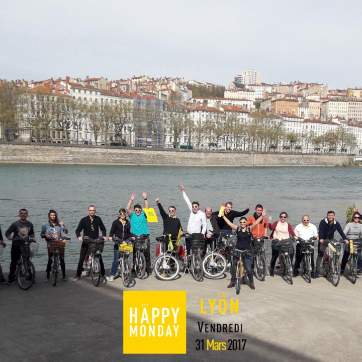[on l'a fait] L'équipe HM à vélo…