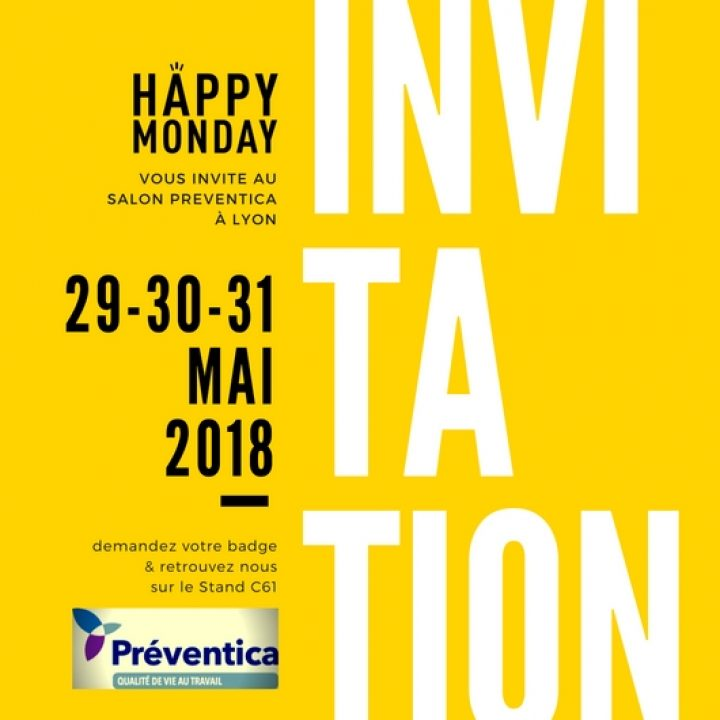 Salon PREVENTICA Lyon 2018