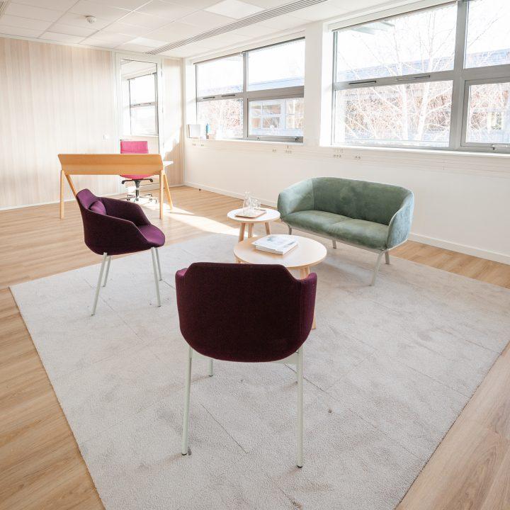 Vos nouveaux bureaux…