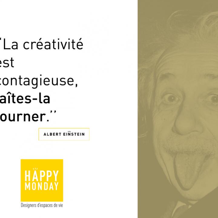 «La Créativité est contagieuse…»